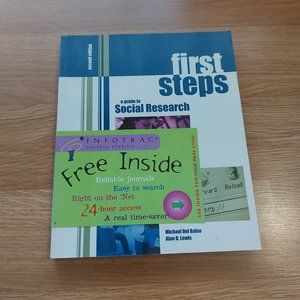 Mix & Match 2 for $10 Books! - First Steps: A Guide To Social Research